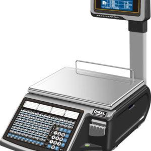 Waga DIBAL M-525 T - wagi-etykietujace