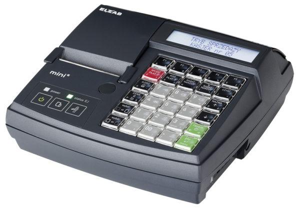Kasa fiskalna ELZAB Mini E z klawiaturą modułową - kasy-srednie
